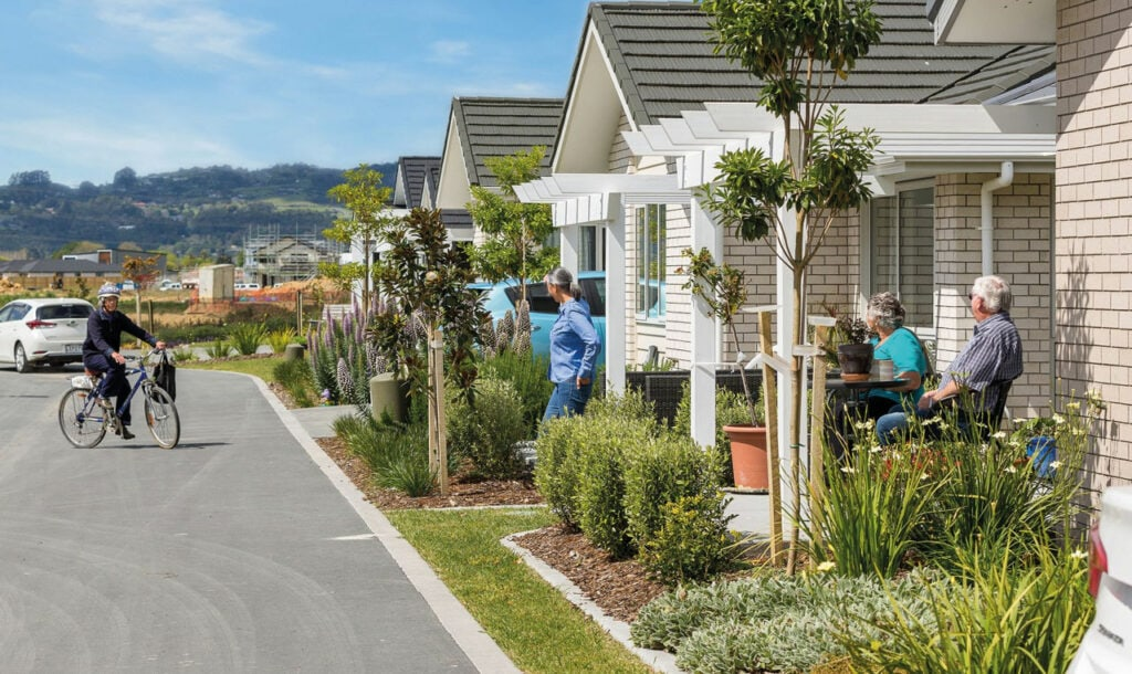 Exterior shot of Retirement Villages in Auckland