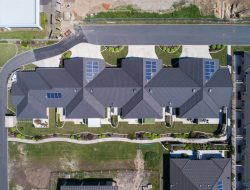 Roseland Roofs Aerial 2